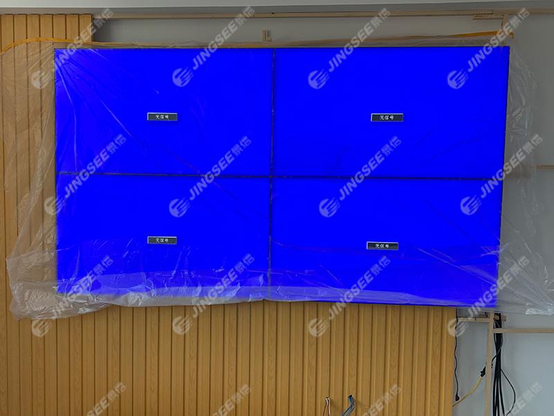 河北衡水阳光蓝岸底商建设银行46寸3.5mm2x2